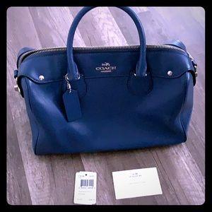 Blue Coach satchel